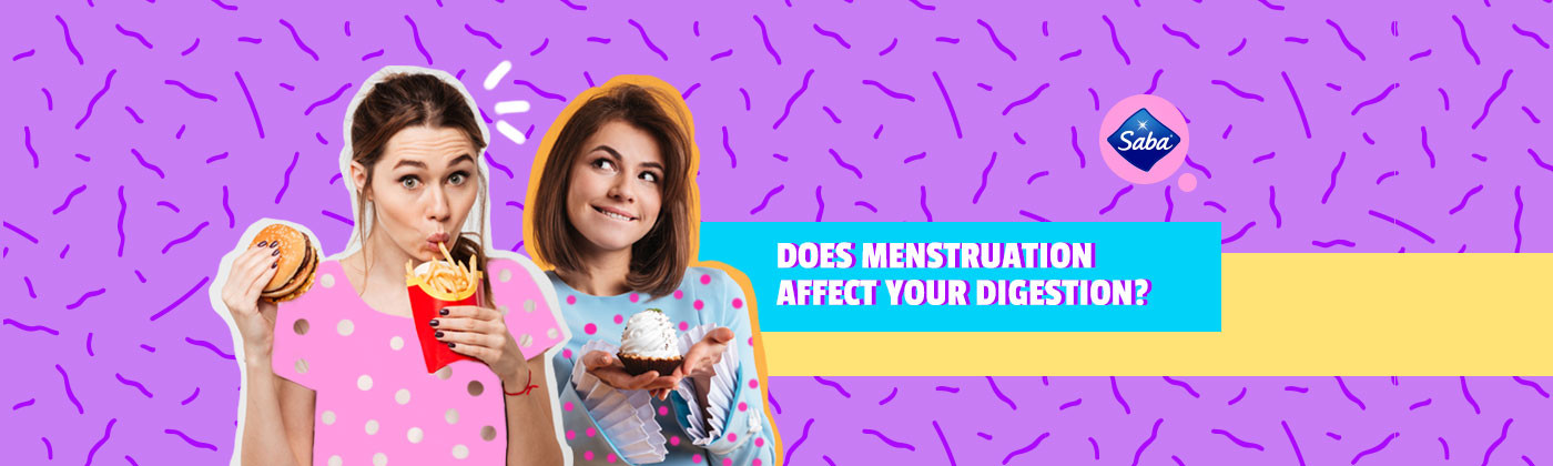 Does menstruation affect your digestion?