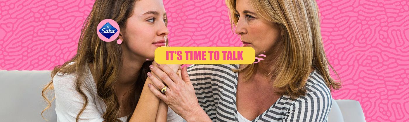 MOTHER-DAUGHTER PERIOD TALK